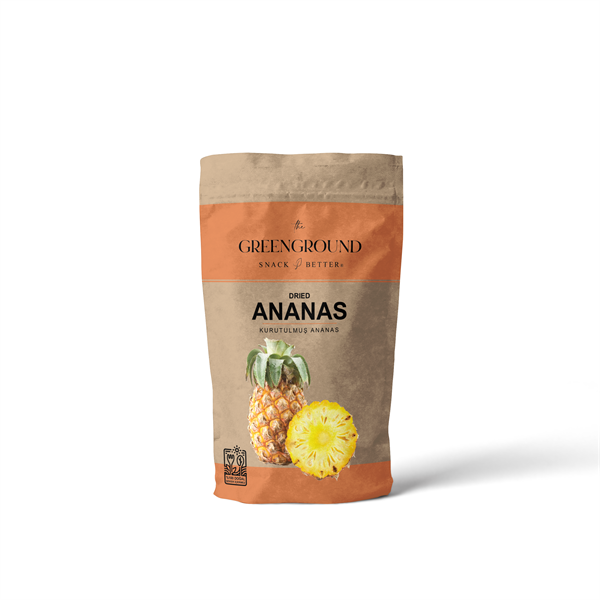 Green Ground Kurutulmuş Ananas 200 gr